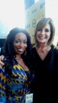 Linda Gray and Nicole Barrett-Red Carpet